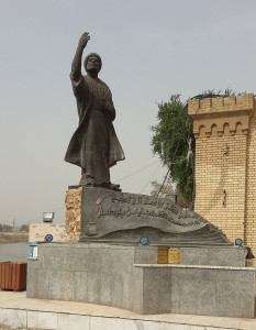 800px-Al-Mutanabbi_Statue_in_Baghdad