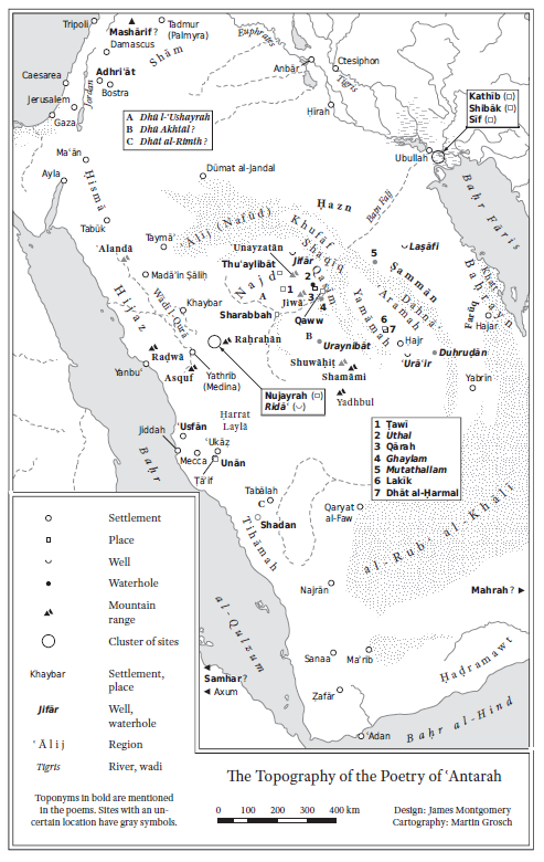 Map from War Songs